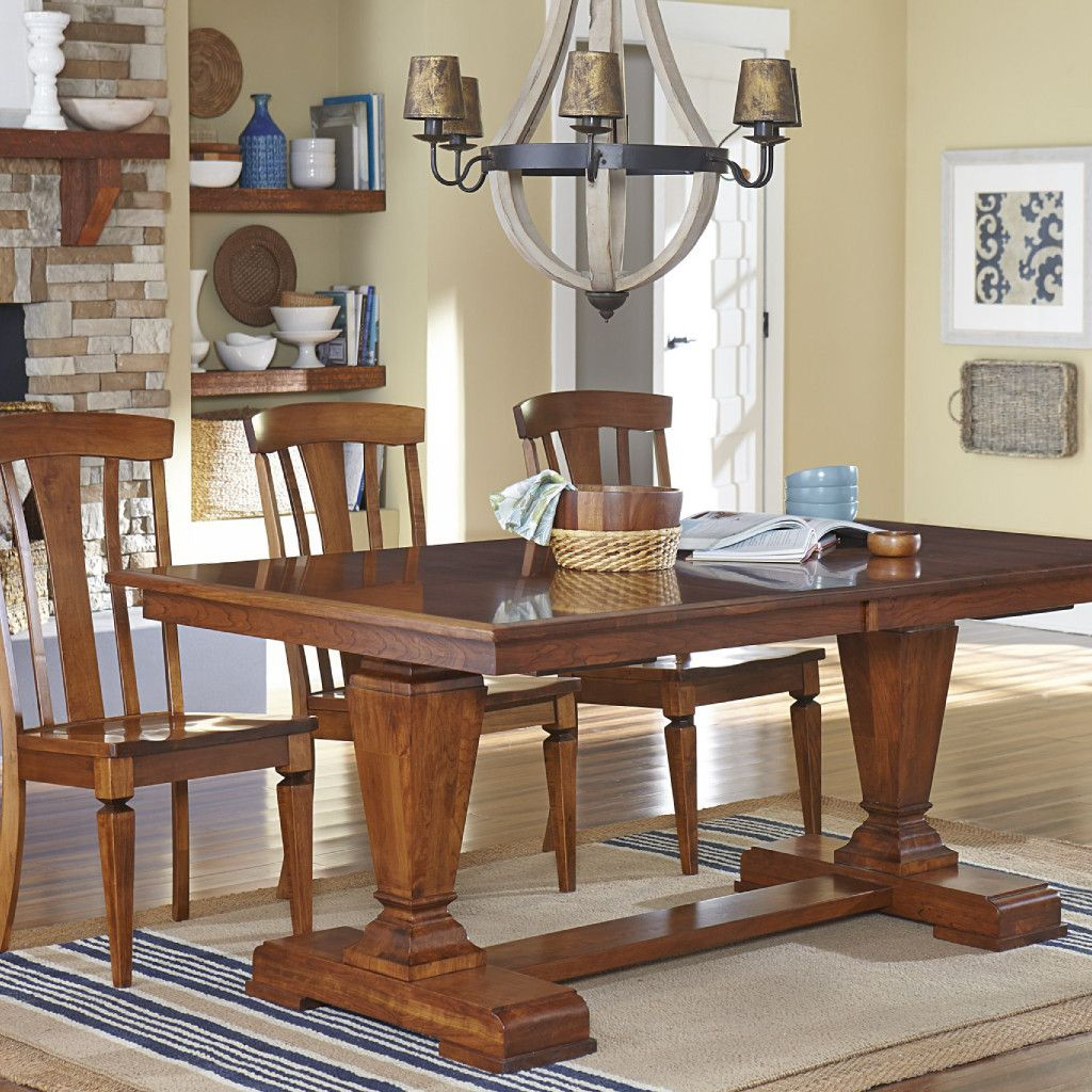 Trestle Table Amish Dining Room: Fulton Trestle Extension Table
