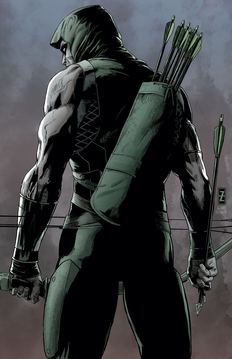 superheroes-or-whatever:Green Arrow (2011-) #41 by Patrick