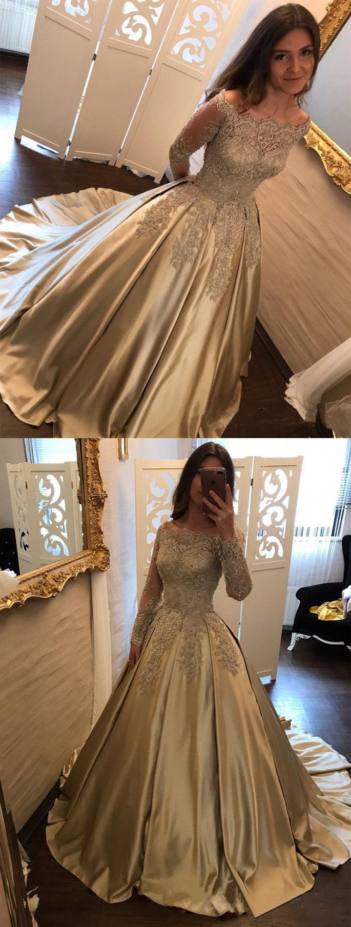Taffeta Wedding Dresses 2018