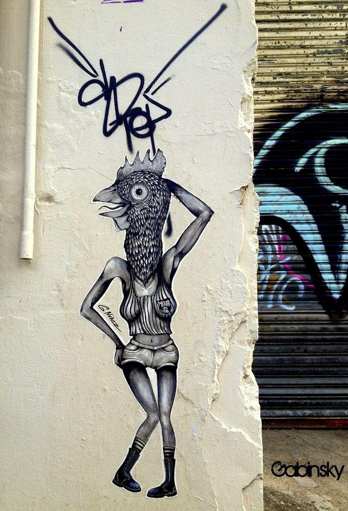 SEL5 - Arte y Graffitti en El Gandul, Barrio Trastalleres, Santurce, San Juan, Puerto Rico