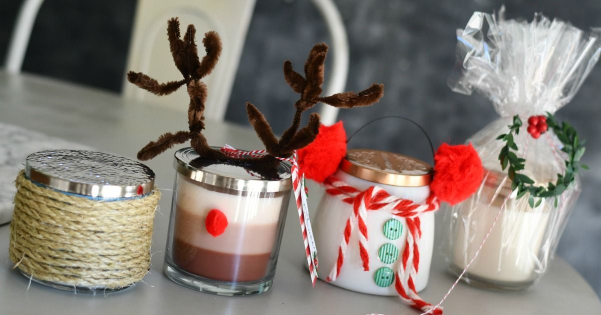 4 easy unique ideas to gift a candle this christmas