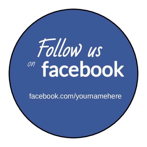 Advertise Your Social Media Accounts With Help From These Free Printable Labels Like Us On Facebook Stickers Labels Label Templates Printing Labels
