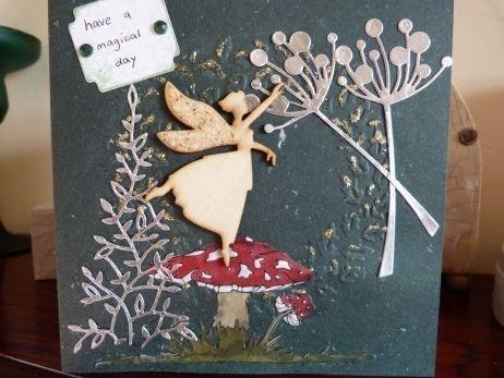 Fairy Dreams Birthday card £2.00