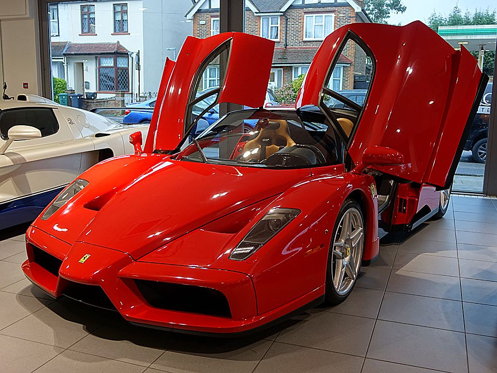 Delivery Ferrari Enzo At Romans International Ferrari Enzo