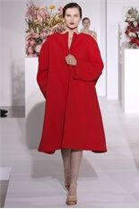 I want a red coat... This red coat! Jil Sander FW 12-13