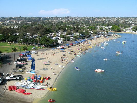 Usa Today Selects Campland On The Bay As Top 10 Urban Camp Destination Campers Will Feel In The Rv Parks And Campgrounds California Camping Camping Locations