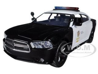 2011 DODGE CHARGER PURSUIT LAPD LOS ANGELES POLICE 1//24  CAR BY MOTORMAX 76947