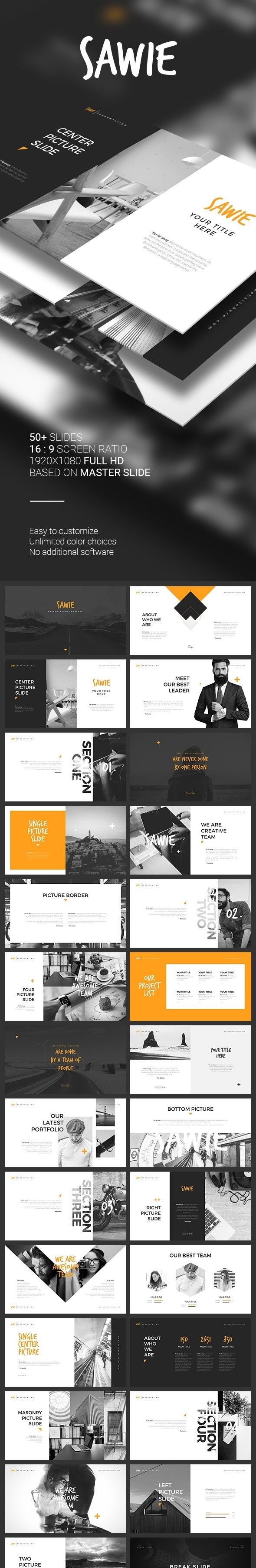 about me business chart clean color creative hipster keynote