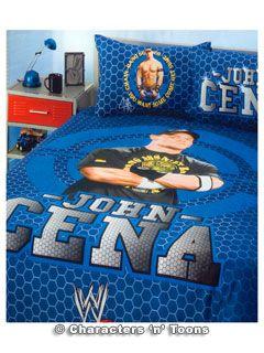 Wwe Bedding Quilt Cover Set Queen John Cena
