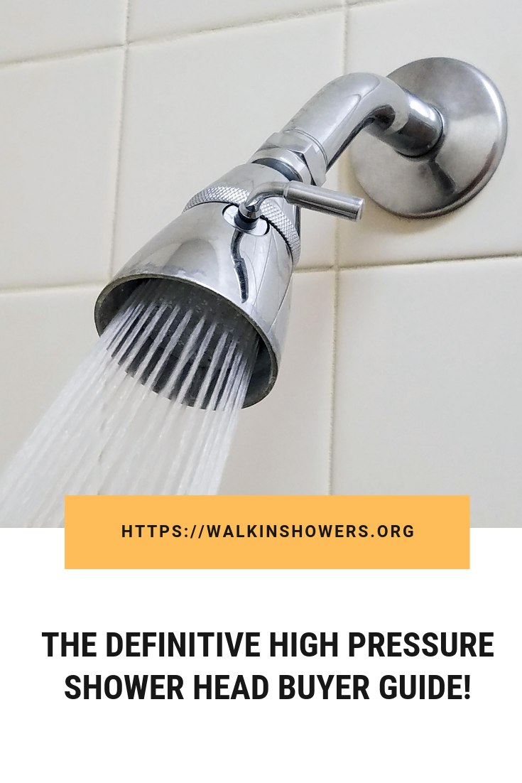 Best High Pressure Shower Head Reviews In 2020 High Pressure Shower Head Shower Heads Shower Head Reviews