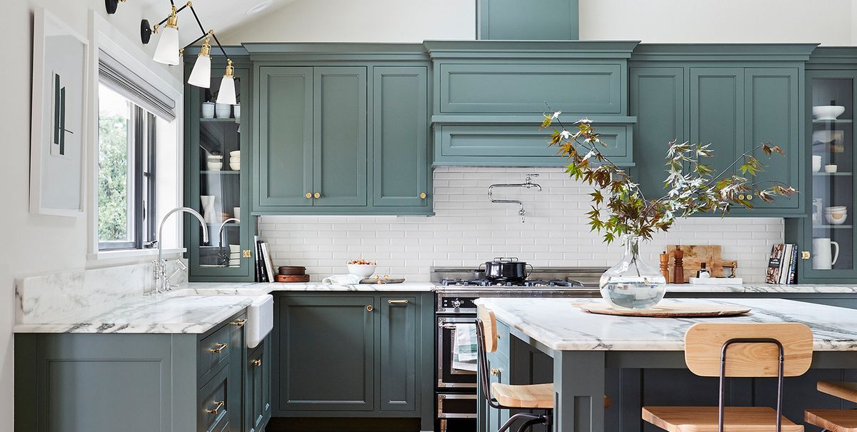The Kitchen Cabinet Paint Colors Designers Will Use in ...