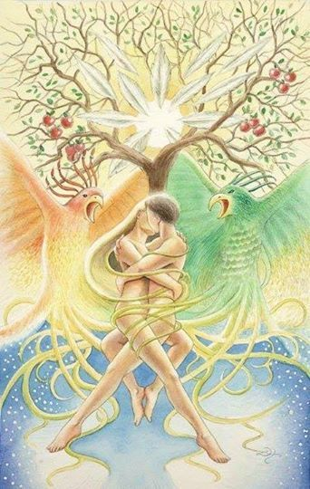 Flammes jumelles | Unification | Soul mate love, Twin souls, Love is