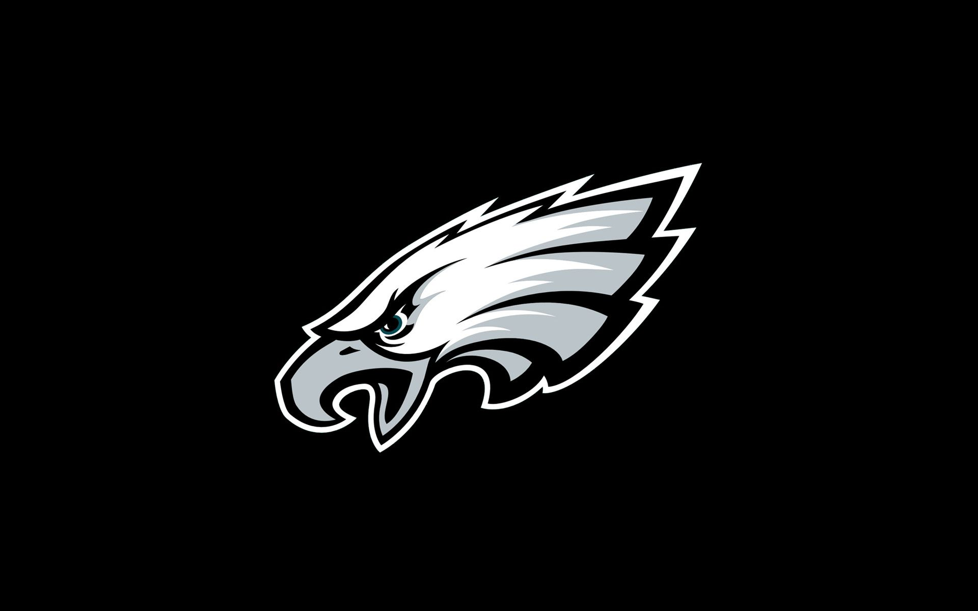 eagles black logo Logo wallpaper hd