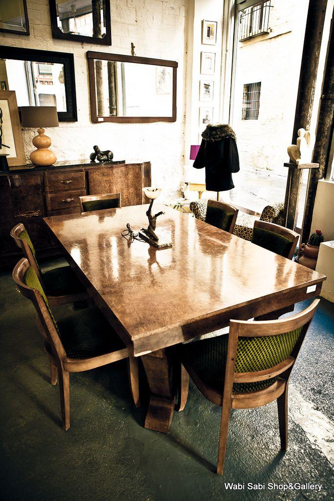 Comedor art dec a os 20 en sevilla en ra z de roble - Factory sofas sevilla ...