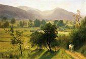 Conway Valley  New Hampshire - Albert Bierstadt - www.albertbierstadt.org