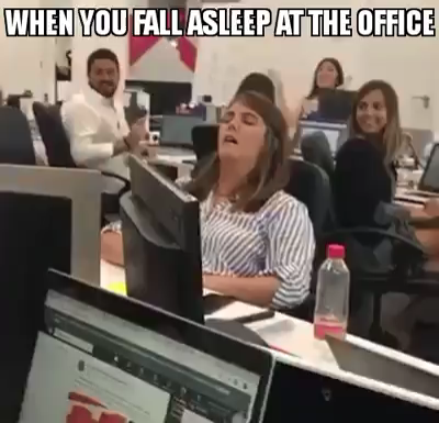 Photo of When You Fall Asleep at the Office