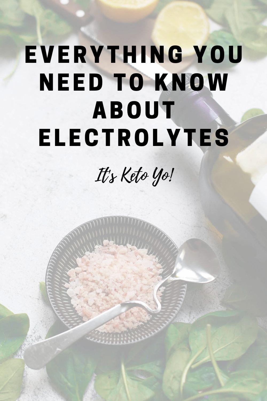 Photo of Elektrolyte und Keto | Es ist Keto Yo!