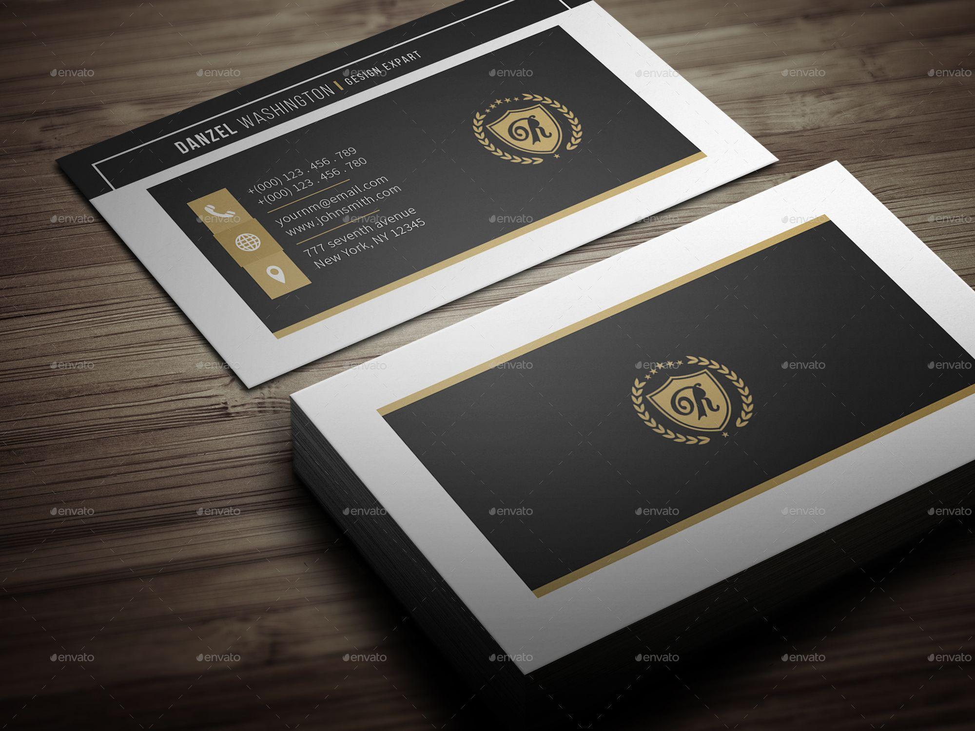 Classic Business Card Classic Business Card Book Design Inspiration Business Card Design