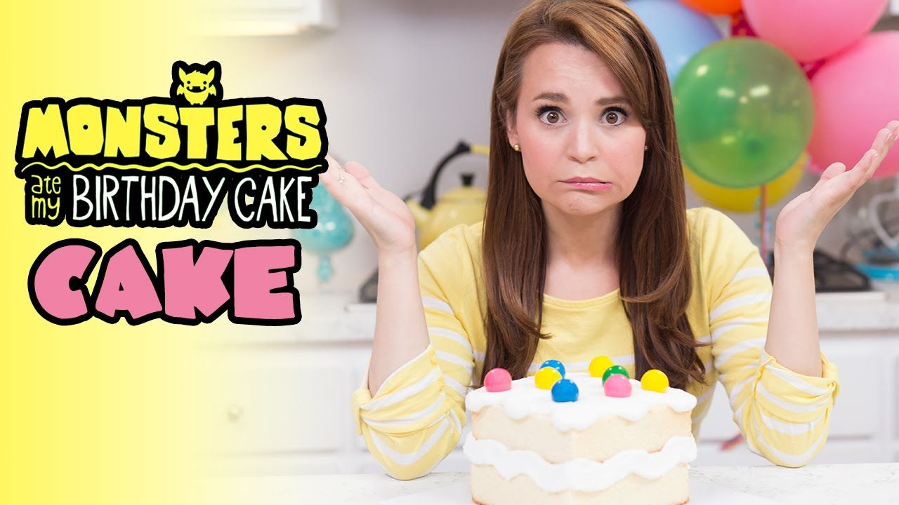 Monsters Ate My Birthday Cake Cake Nerdy Nummies Cakes