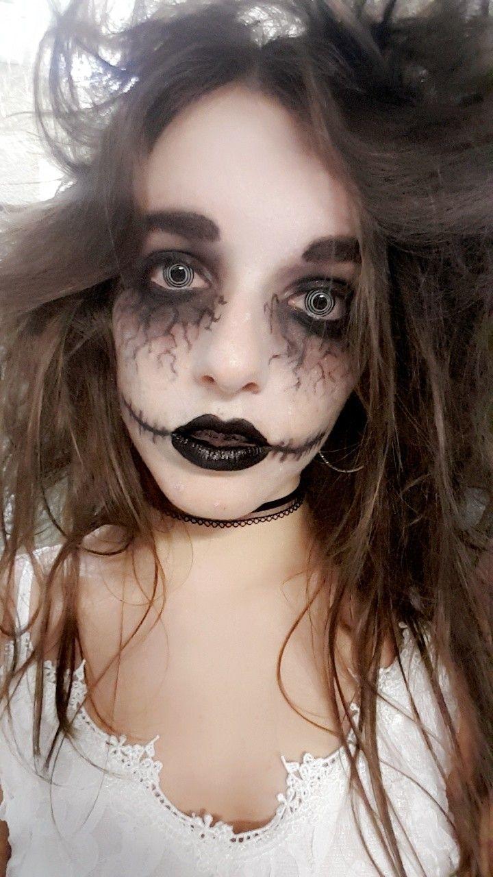 Maquillage Halloween Mariee.Epingle Sur Halloween