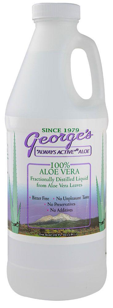 George's Always Active® Aloe Vera -- 32 fl oz - Vitacost   I