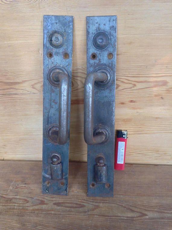 Set of 2 Vintage Door Handle with Keyhole Metal Door Knob & Set of 2 Vintage Door Handle with Keyhole Metal Door Knob   Home ...