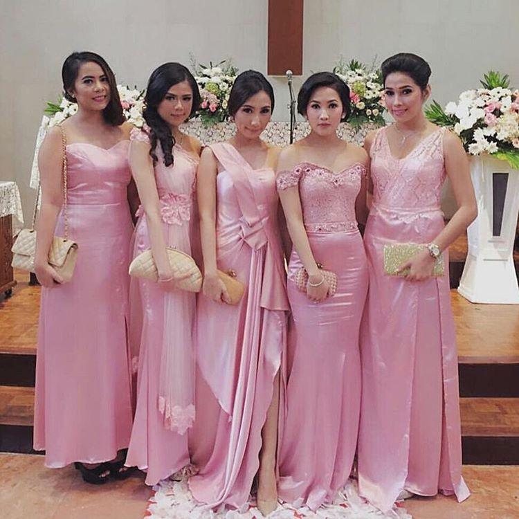 Kebaya Brokat Dress Satin | mermaid dress | Kebaya ...