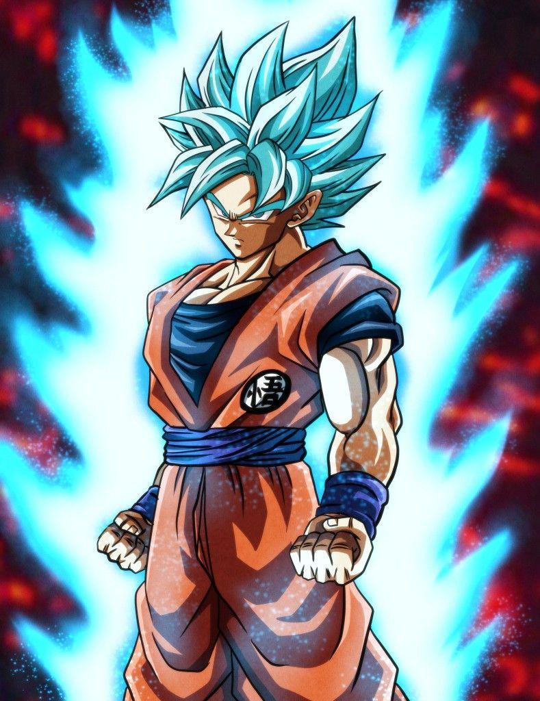 Goku Super Saiyan Blue By Akabeco Dragon Ball Super Artwork Anime Dragon Ball Super Dragon Ball Art Goku