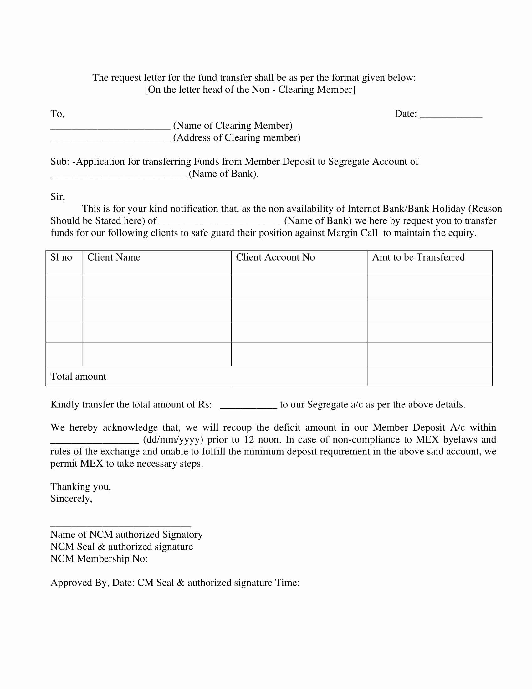 request for funds form template best of 9 transfer resume examples first time job good sales warehouse operative cv sample