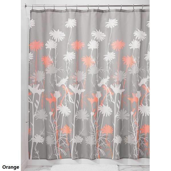 Daizy Fabric Shower Curtain