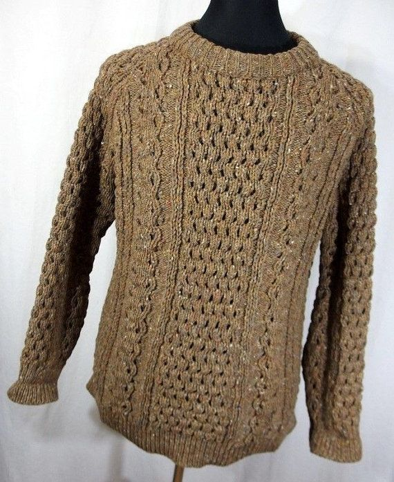 John Molloy Donegal XL sweater 100% pure by AmazingTasteVintage