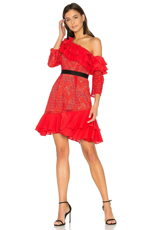 Park Art|My WordPress Blog_Red Ruffle Dress Off Shoulder