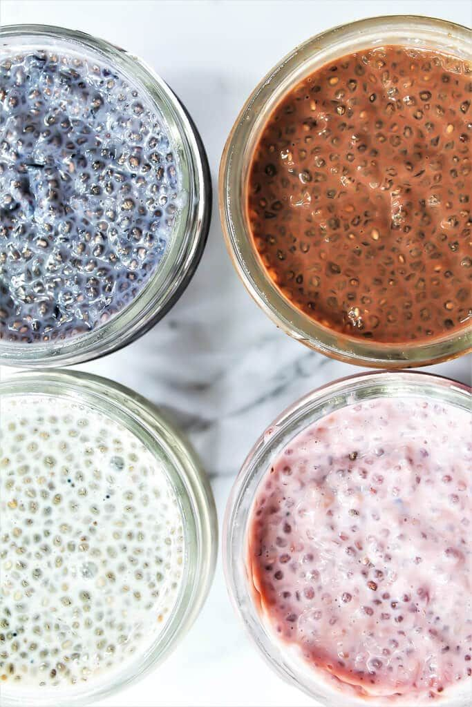 Easy Chia Seed Pudding - Breakfast Meal Prep! #chiaseedpudding