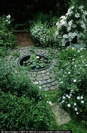 Photo of Gorgeous White and Silver Moon Garden Design  Onechitecture#design #model #dress…