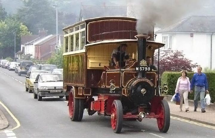 STEAM BUS  front