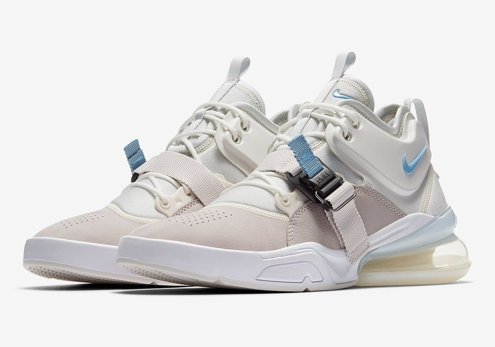 buy online 305ad 99c42 Details about Nike Air Force 270 Command Force Black White ...