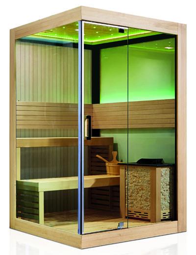 Monalisa M6034 luxury sauna room with Harvia heater sauna house