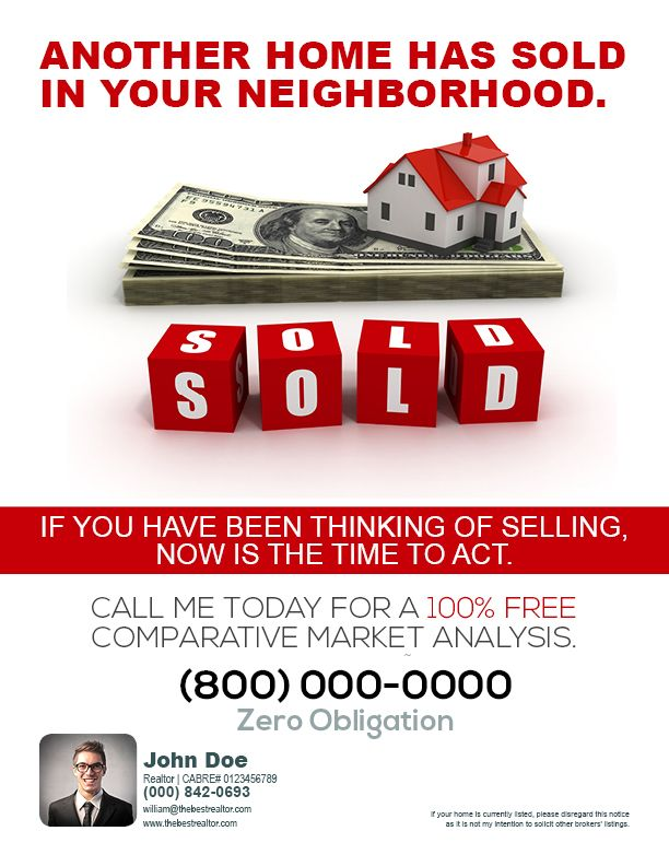 real estate flyers for sellers