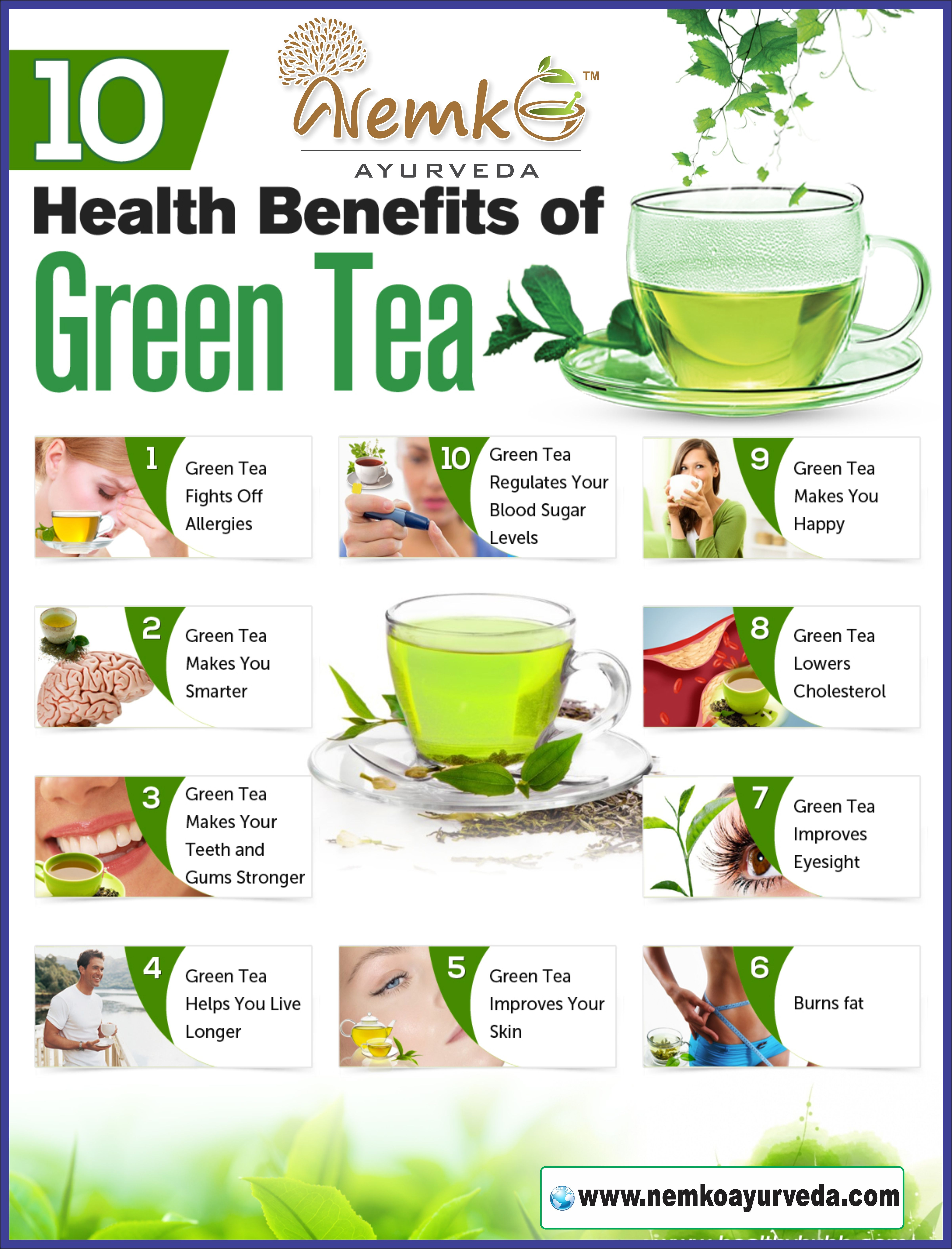 drinking this green tea daily can save your health and make