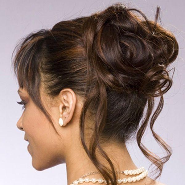 Updos For Weddings Wedding Hair Opgestoken Haar Kapsels Halflang Haar Opsteken