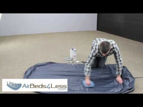 How To Find A Leak And Patch An Air Bed Mattress Correctly Wow Do