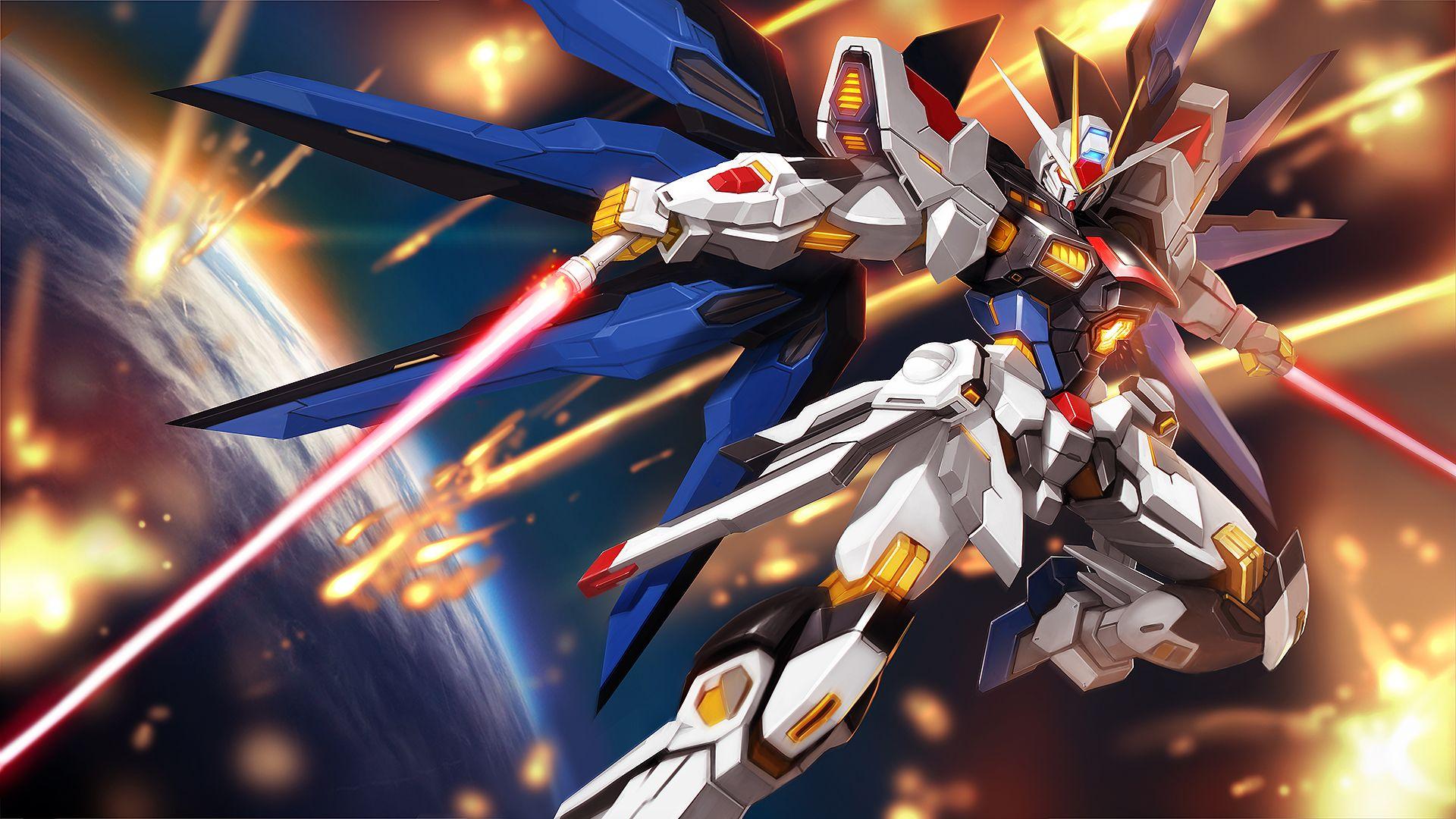 Strike Freedom Gundam Gundam Wallpapers Gundam Seed Gundam