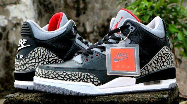 a4885a6d558cae Air Jordan 3 Retro  88 - Black   Cement
