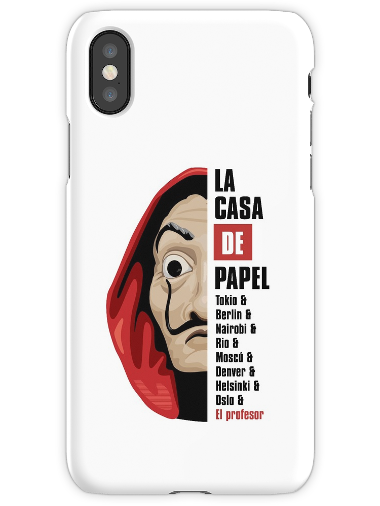 Money Heist Iphone Case Cover In 2020 Iphone Case Covers Iphone Cases T Shirts For Women