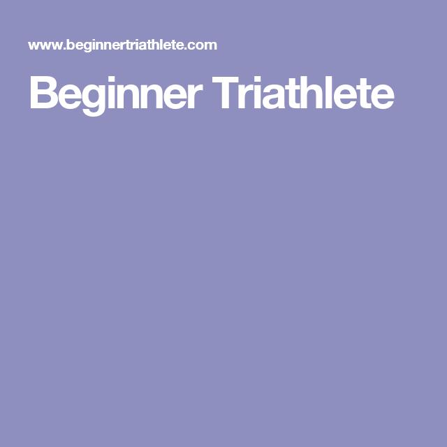 Strength Training Plan For Triathletes: Beginner Triathlete
