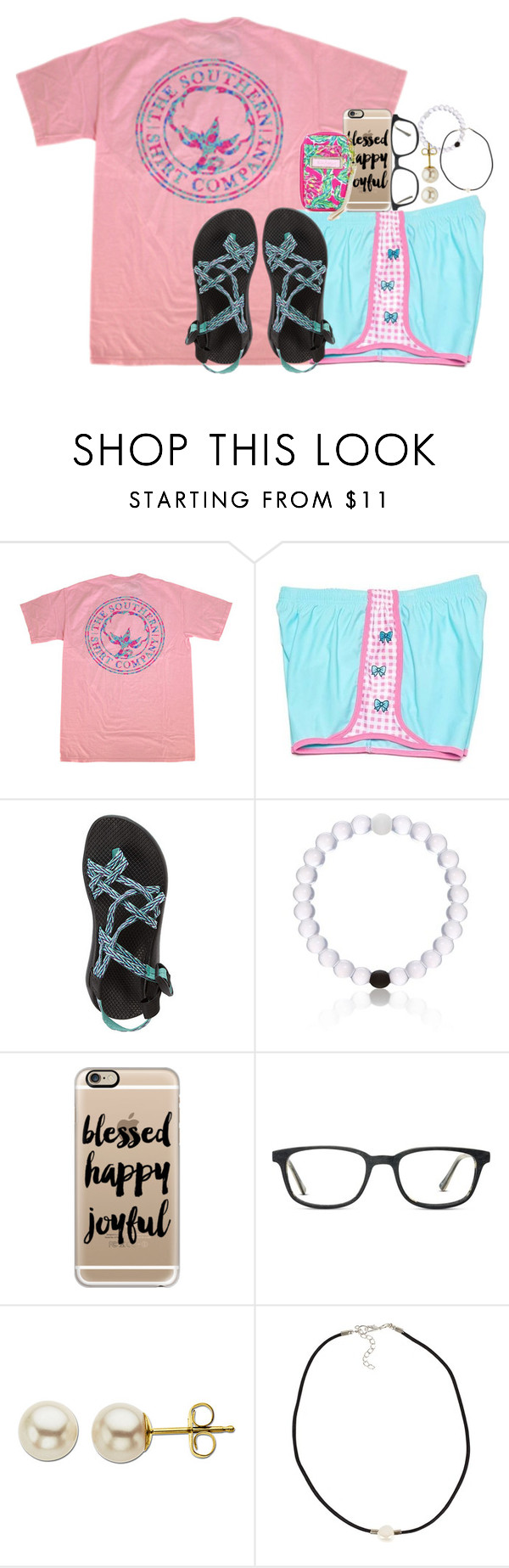"""""""watching Legally Blonde"""" by judebellar03 ❤ liked on Polyvore featuring Chaco, Casetify, Lilly Pulitzer, GlassesUSA, Lord & Taylor and NLY Accessories"""