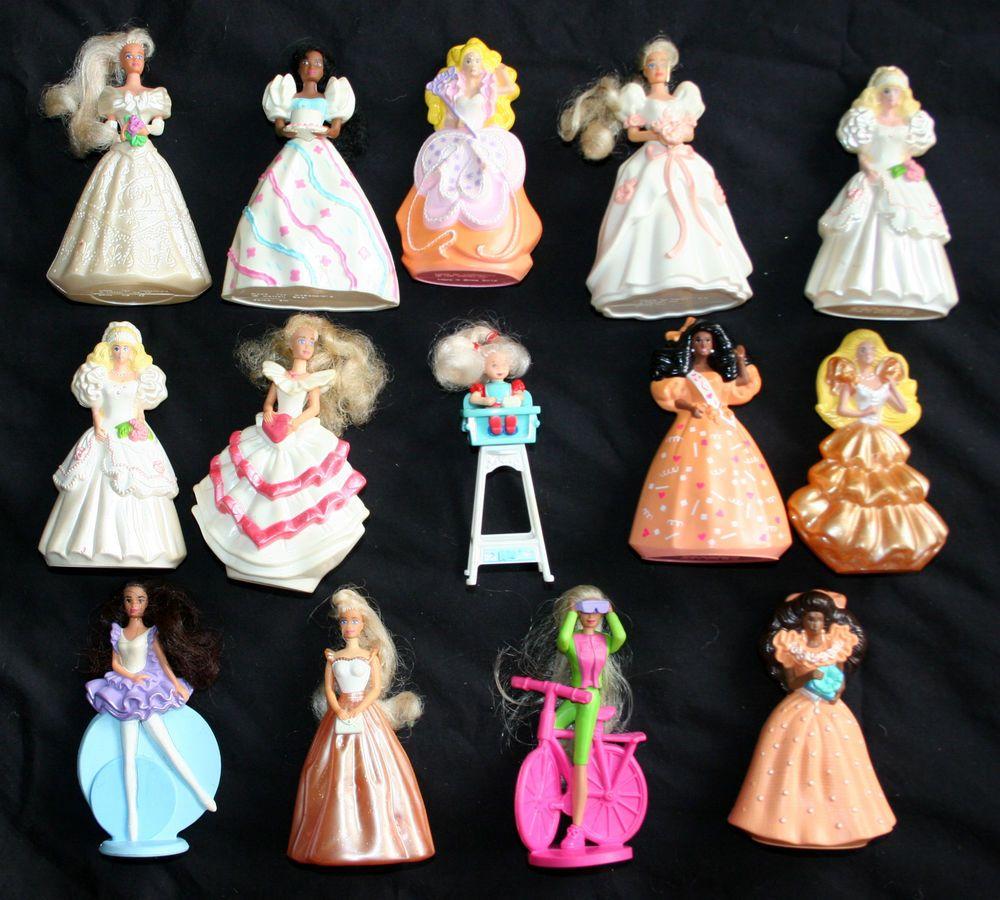 Vintage-1990s-Barbie-Dolls-McDonalds-Happy-Meal-Toys | 90 ...