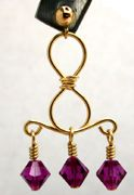 Figure 8 Dangle Earrings with Beads Jewelry Making Project
