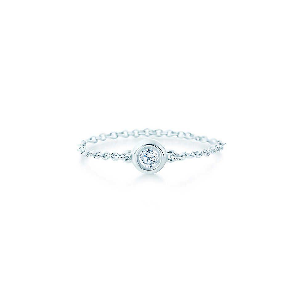 elsa peretti diamonds by the yard ring - Elsa Peretti Color By The Yard Ring