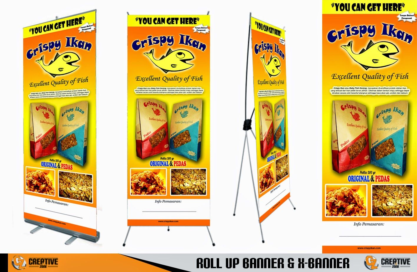 Contoh Banner Makanan